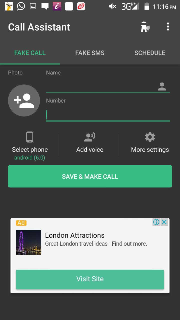 fake call 3
