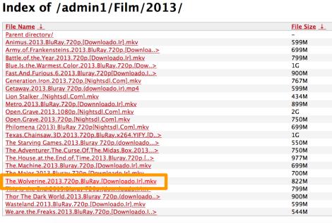 index of free movie downloads